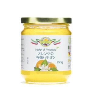 オレンジの有機ハチミツ